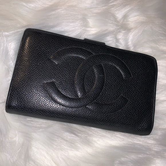CHANEL Handbags - Chanel Leather Wallet